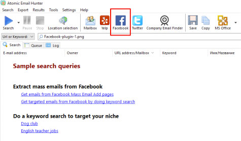 facebook group email extractor